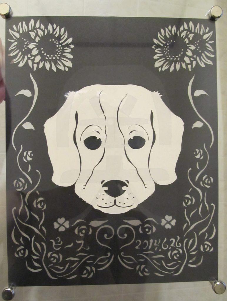 お友達の愛犬をお友達のたんじょうびにプレゼント